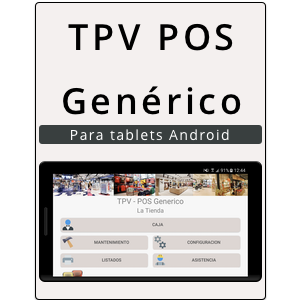 App Android TPV POS Genórico